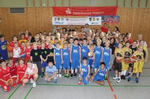 Gruppenfoto Sparkassen Cup U12