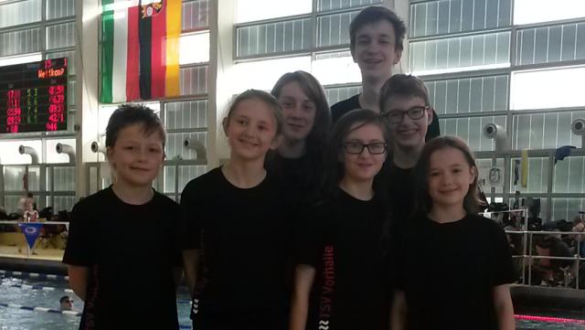TSV1879 Schwimmteam in Dortmund